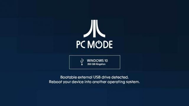 Atari VCS PC Mode