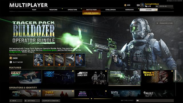 Black Ops Cold War tracer packs