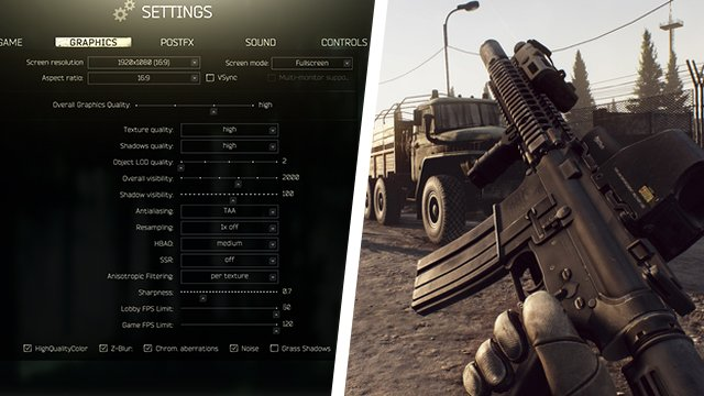 Escape From Tarkov Best PC Settings 2021