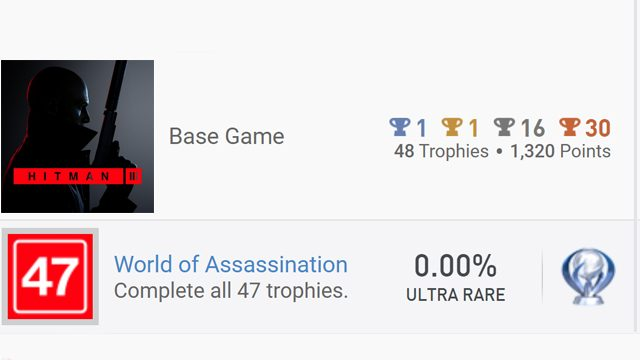 Hitman 3 finally brings a platinum trophy to the trilogy