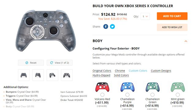 MegaModz Xbox Series X Controller Review