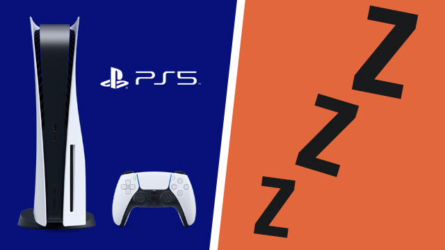 PS5 your console will enter rest mode message