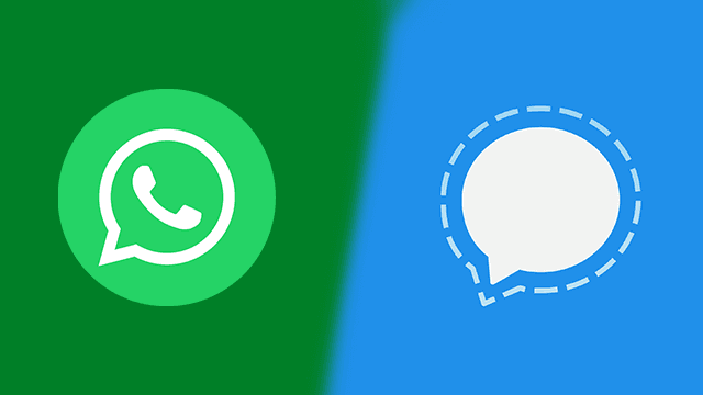 Switch from WhatsApp to Signal