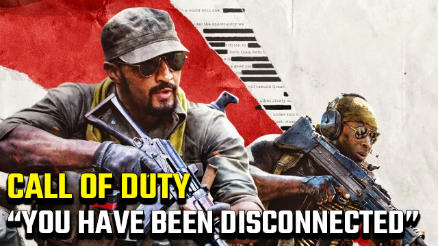 You have been disconnected from the Call of Duty servers fix