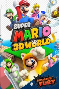 Box art - Super Mario 3D World + Bowser's Fury