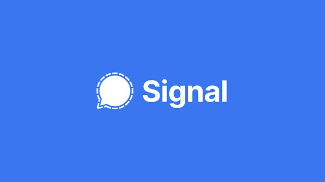 does Signal store user data?