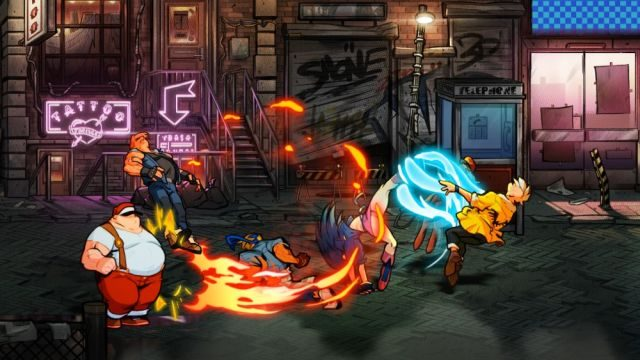 streets of rage 4 game of the year 2020