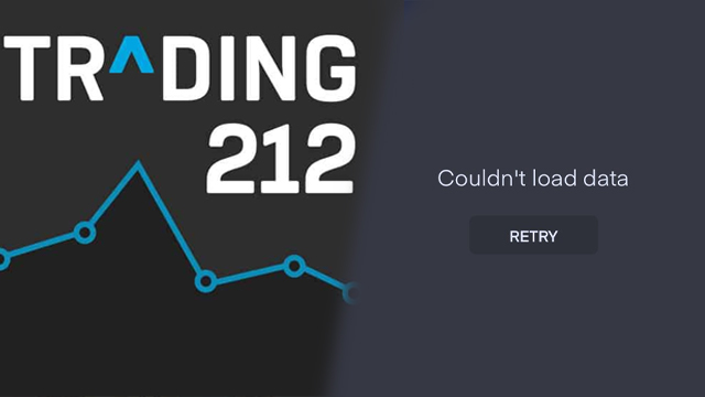 trading 212 couldn't load data