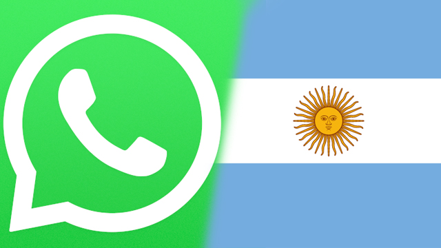 whatsapp argentina virus is doing it