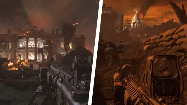 Capitol riots make Call of Duty Capitol warfare level surge in popularity