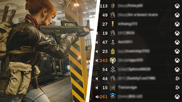 Black Ops Cold War gold numbers