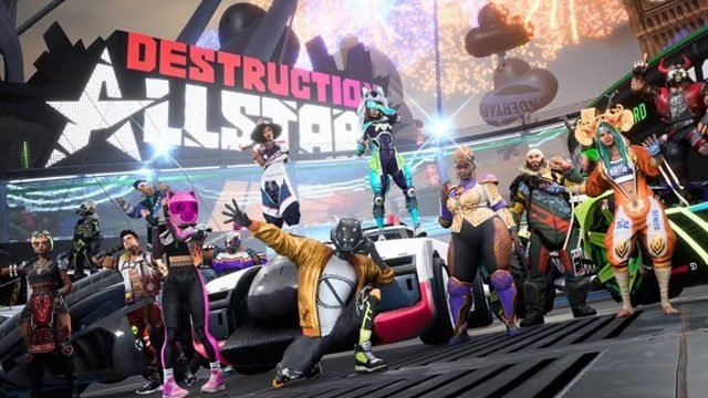 Destruction AllStars all character Breakers and car abilities