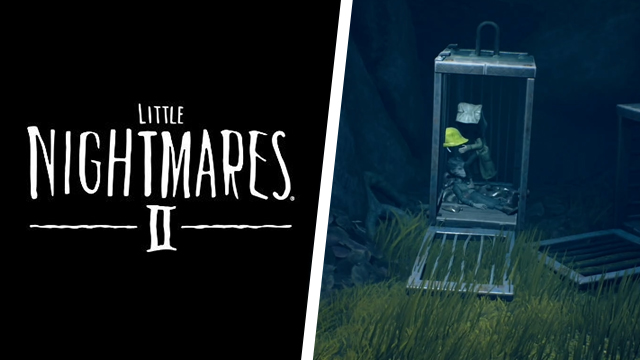 How to get the yellow hat out of the cage in Little Nightmares 2
