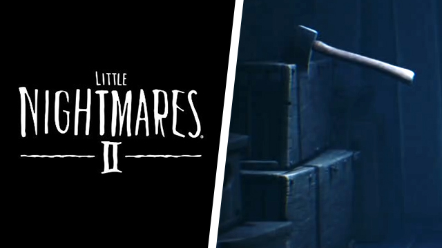 How to pull the axe out of the wood in Little Nightmares 2