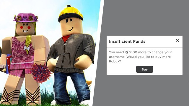 Roblox how to change name