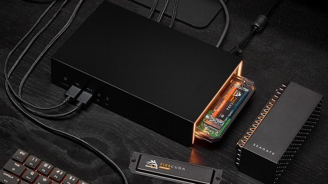 Seagate FireCuda Gaming Dock Connected2