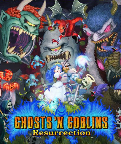Box art - Ghosts 'n Goblins Resurrection