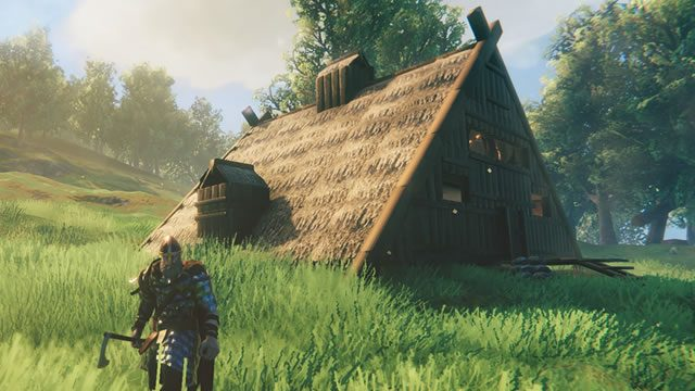 How to build a Viking longhouse in Valheim 02