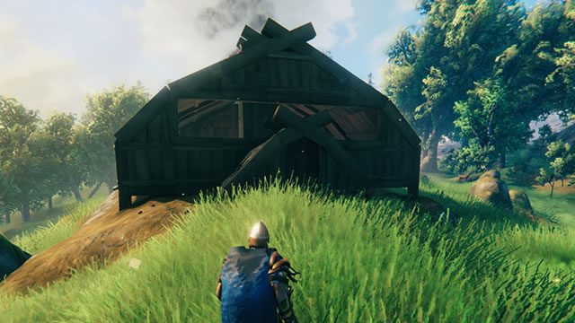 How to build a Viking longhouse in Valheim 03