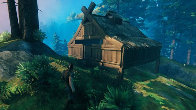 How to build a Viking longhouse in Valheim