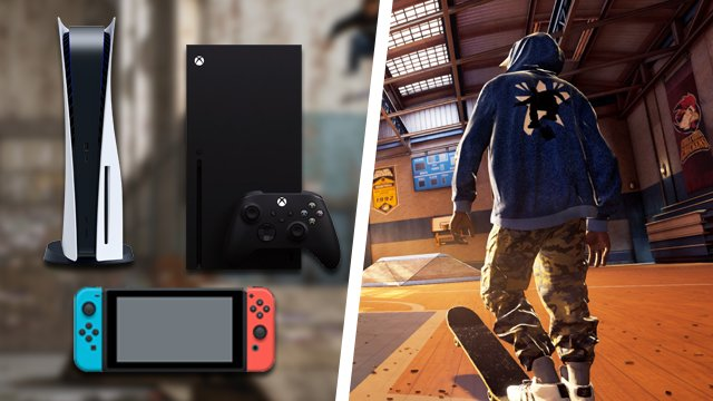 Tony Hawk's Pro Skater 1+2 Switch, PS5, Xbox Series X/S versions teased