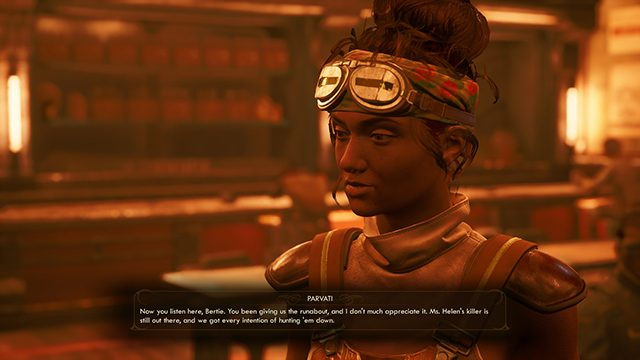 The Outer Worlds: Murder on Eridanos: How to ask a companion to be the bad inspector