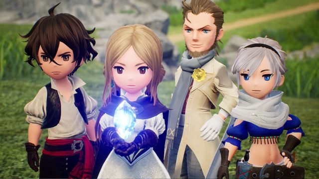 Bravely Default 2 character creation