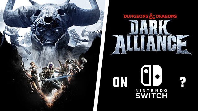 Dungeons and Dragons Dark Alliance Nintendo Switch