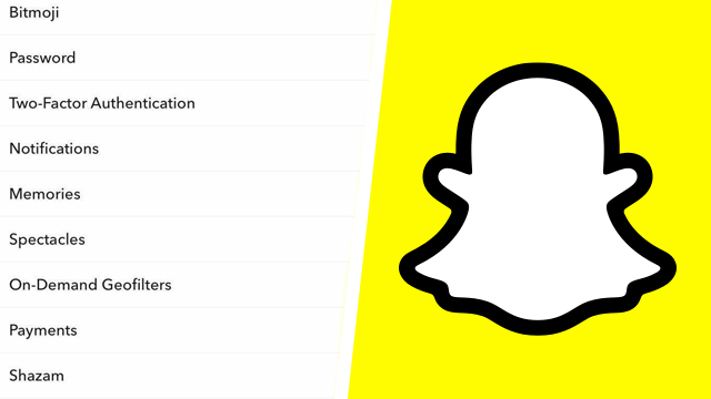 How to find 'App Appearance' on Snapchat