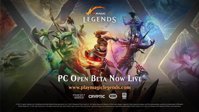 Magic Legends open beta PS4 and Xbox One