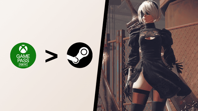 Nier Automata Xbox Game Pass for PC Steam Anger