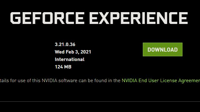 Nvidia Warning: Known issues with graphics driver