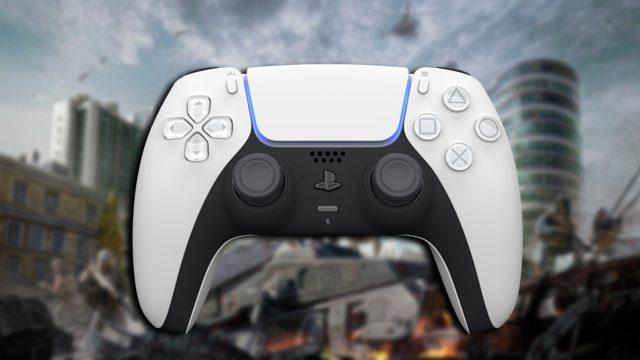 PS5 controller on PC to play Warzone