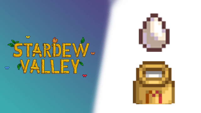Stardew Valley How to get Large Eggs and Large Milk