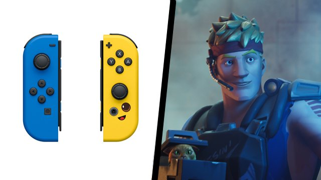 Fortnite Joy-Cons coming later this summer