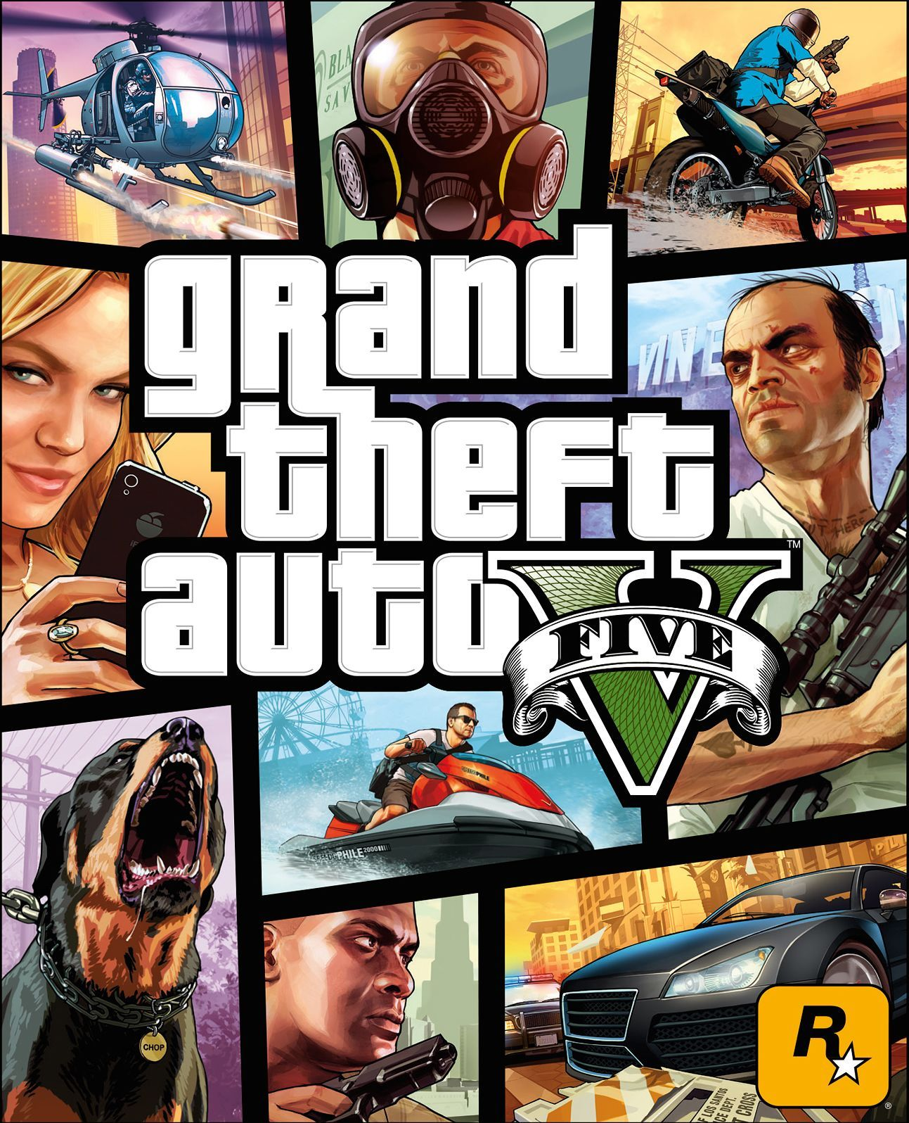 Box art - Grand Theft Auto V