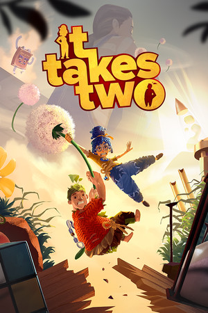 Box art - It Takes Two Review: 'Recaptures that childhood magic better than any game has in years'