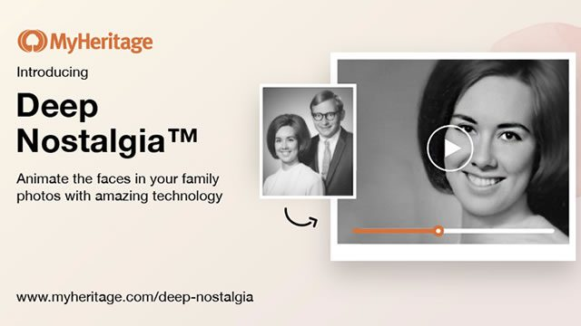 Deep Nostalgia filter - How to download MyHeritage app