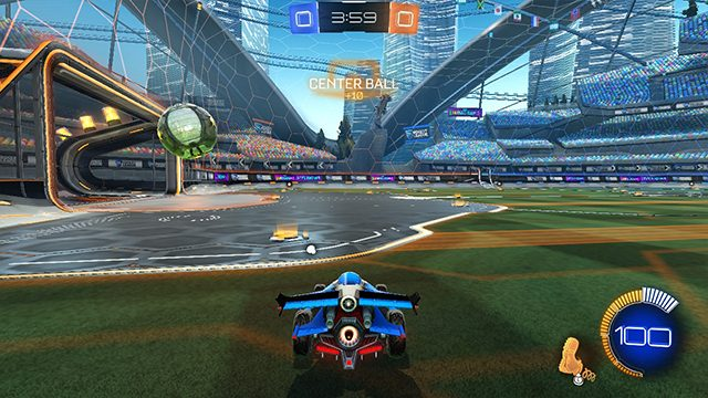 What are centers in Rocket League?