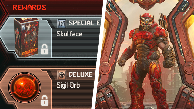 How to get the Doom Eternal Skullface skin