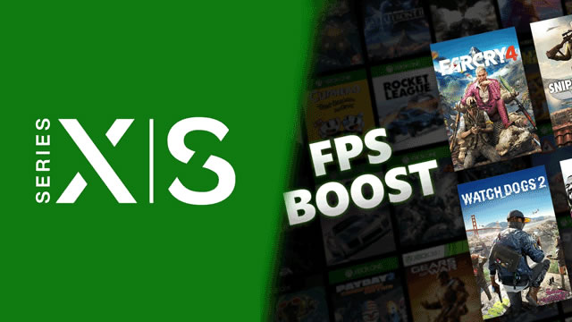 Xbox Series X|S - How to enable FPS Boost