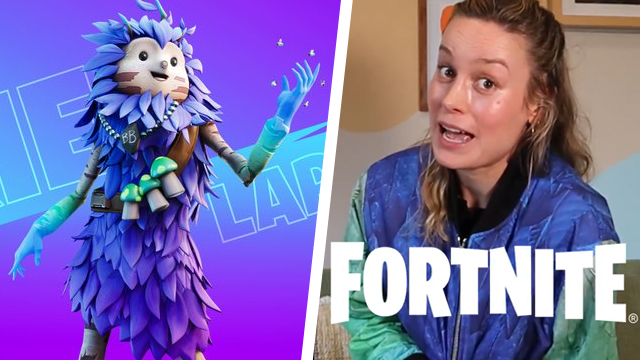 Is Brie Larson in Fortnite?