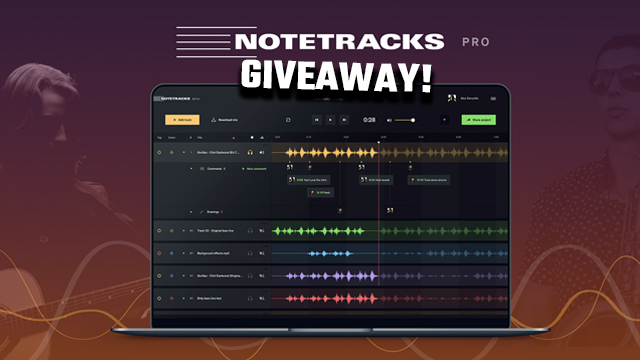 NOTETRACKS PRO GIVEAWAY