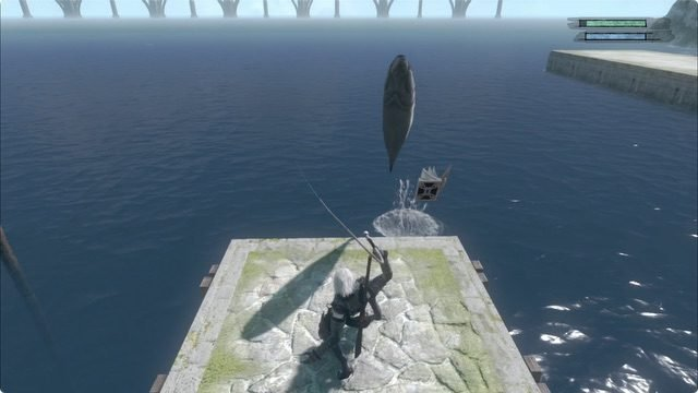 Nier Replicant ver 1-22 how to fish 2