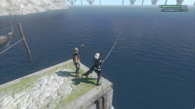 Nier Replicant ver 1-22 how to fish 3