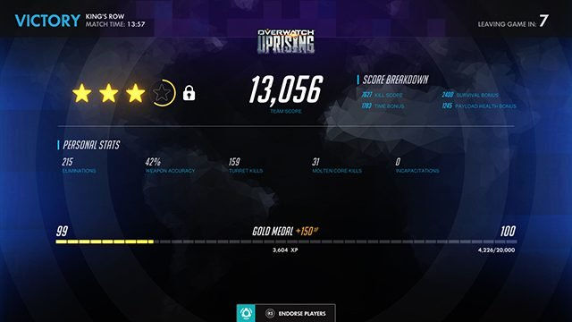 How to get stars in Overwatch