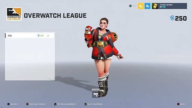 How to get the Overwatch MM-Mei skin