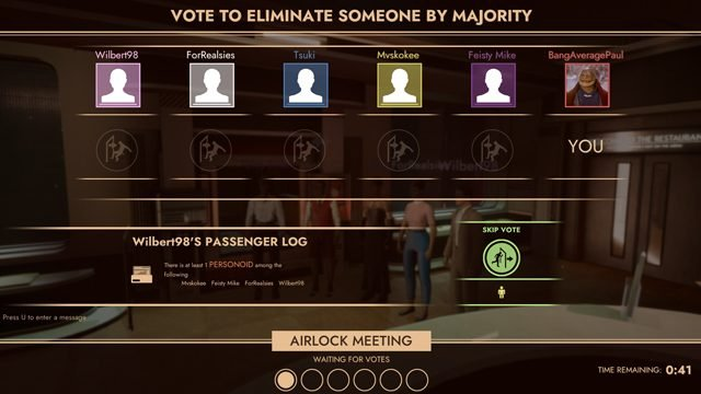 first class trouble vote off players