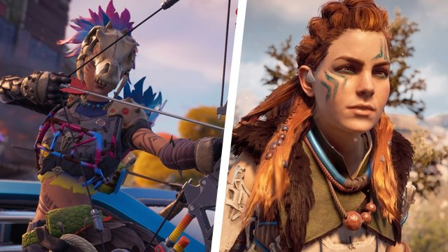 fortnite horizon zero dawn aloy skin
