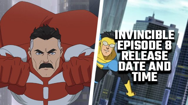 invincible episode 8 release date and time